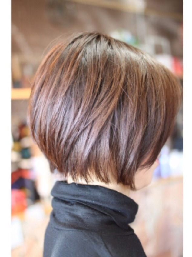 30 Simple And Easy Hairstyles For Straight Hair In 2018 | Hair For Neat Short Rounded Bob Hairstyles For Straight Hair (View 4 of 25)