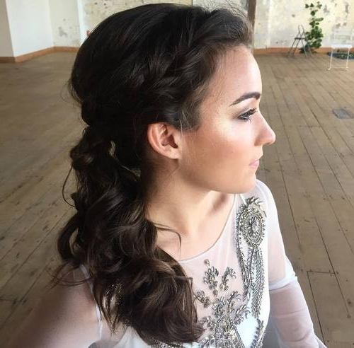 30 Simple Easy Ponytail Hairstyles For Lazy Girls – Ponytail Ideas 2018 Pertaining To Loosely Braided Ponytail Hairstyles (View 16 of 25)