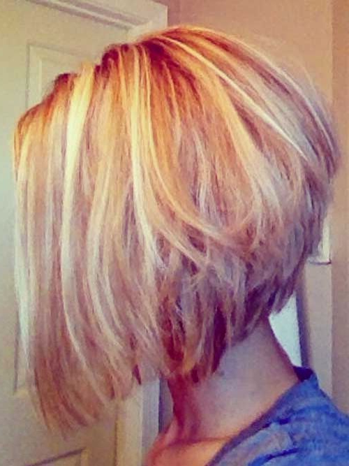 30 Stacked A Line Bob Haircuts You May Like – Pretty Designs Inside A Line Amber Bob Haircuts (View 14 of 25)