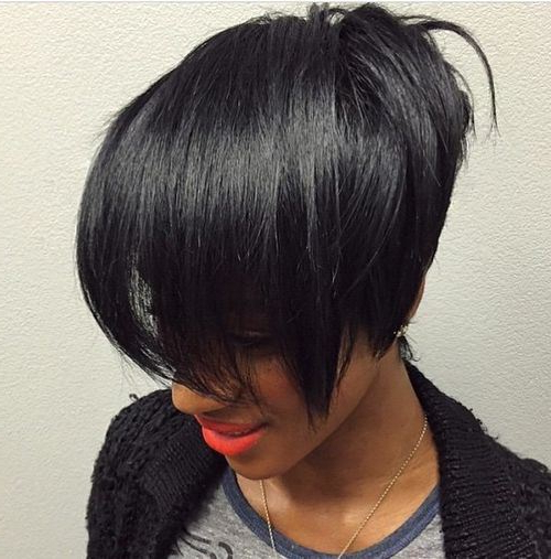 30 Stacked Bob Haircuts For Sophisticated Short Haired Women Inside Two Tone Stacked Pixie Bob Haircuts (View 21 of 25)