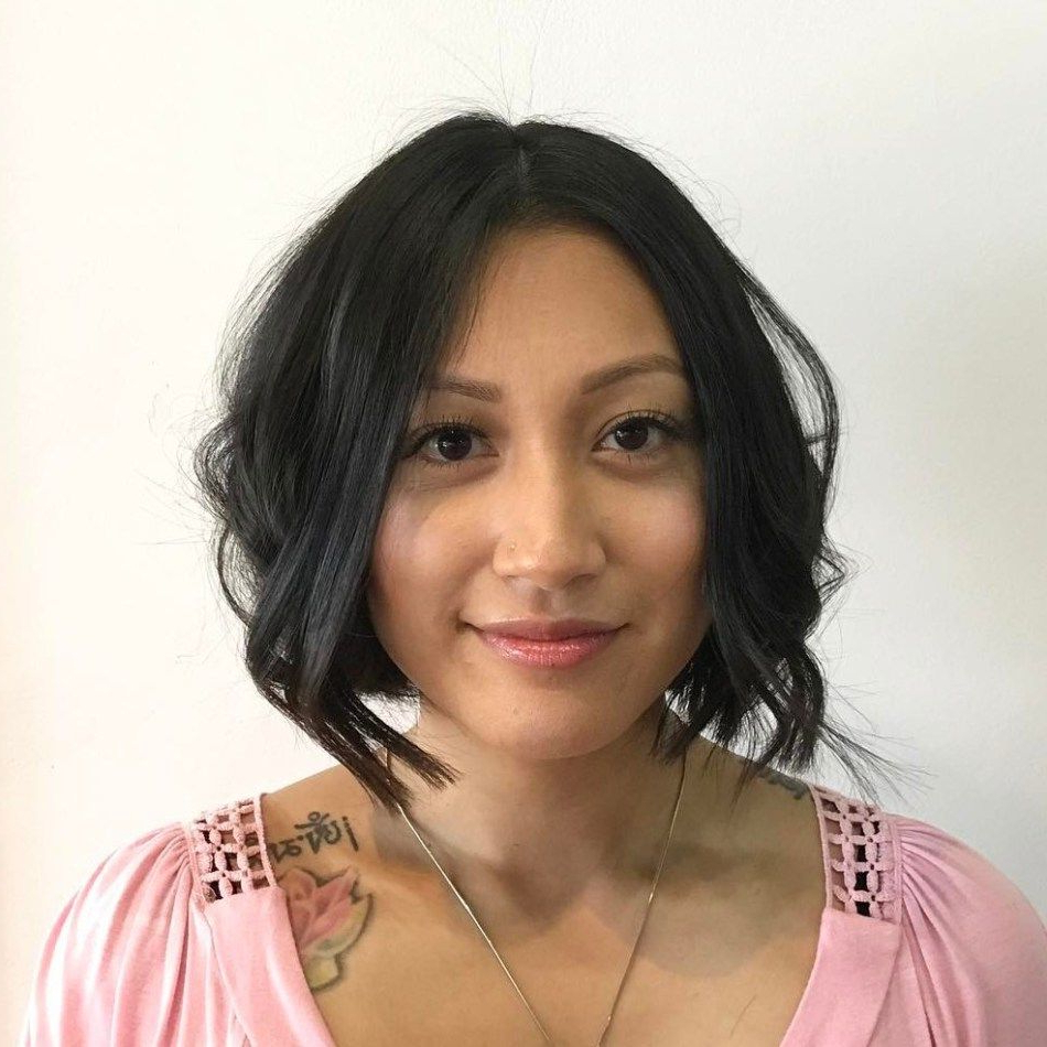 30 Stylish And Sassy Bobs For Round Faces | Bob Hairstyle, Bobs And With Regard To Wavy Sassy Bob Hairstyles (View 8 of 25)