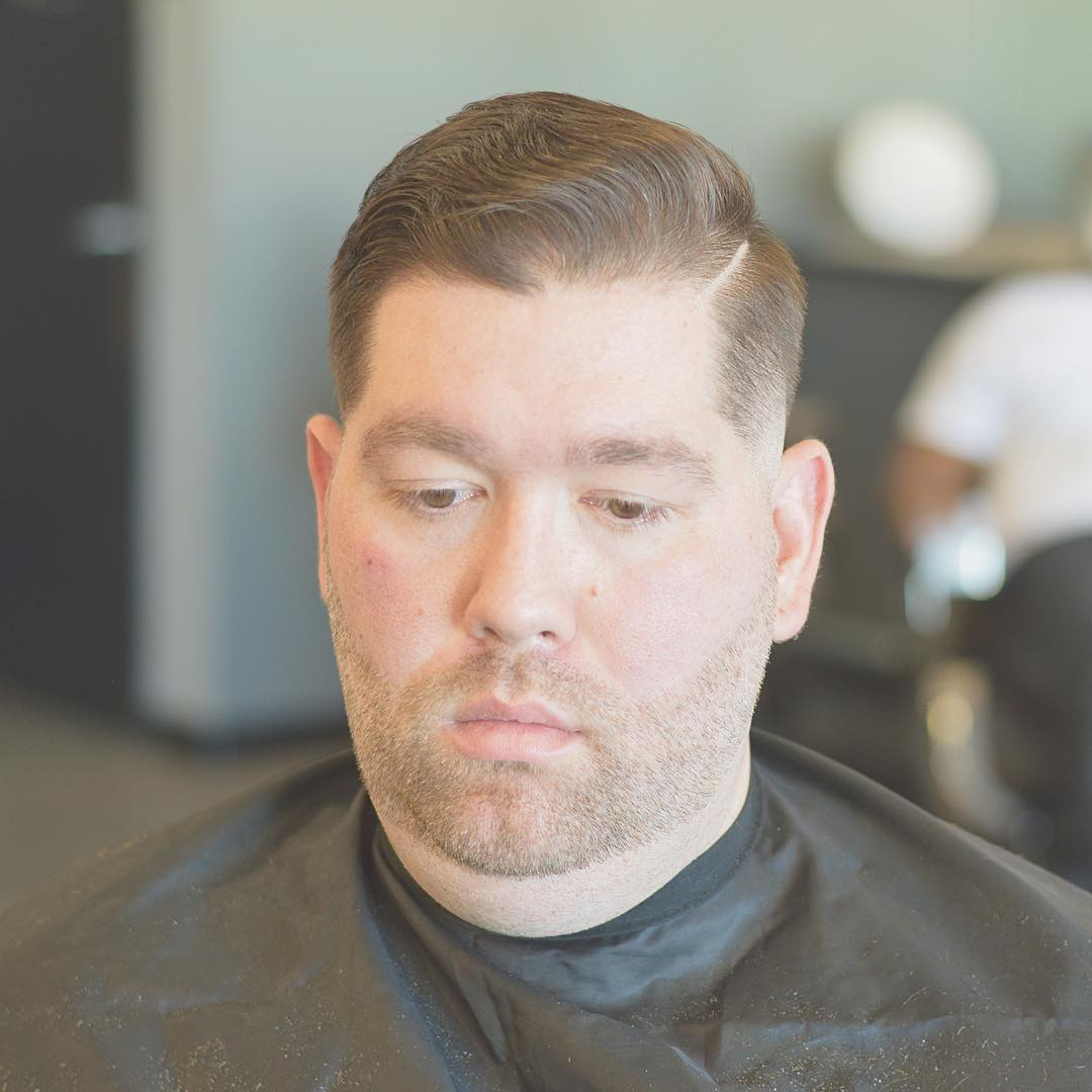 30 Super Cool Haircuts For Men With ''fat'' Faces – Find Your Face Here Within Short Hairstyles For Chubby Cheeks (View 20 of 25)