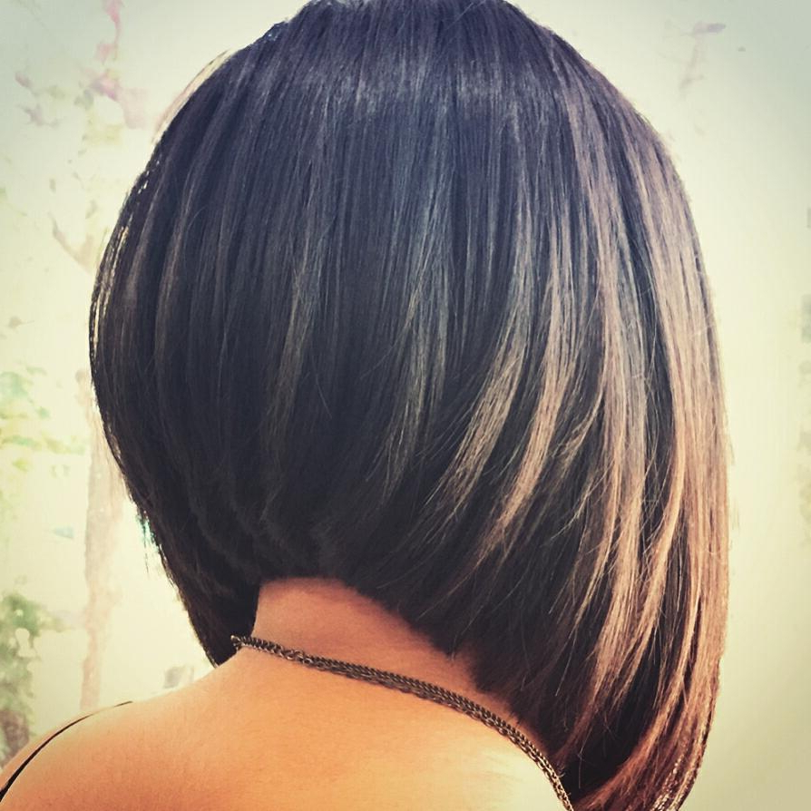 30 Super Hot Stacked Bob Haircuts: Short Hairstyles For Women 2018 Within Wavy Sassy Bob Hairstyles (View 10 of 25)