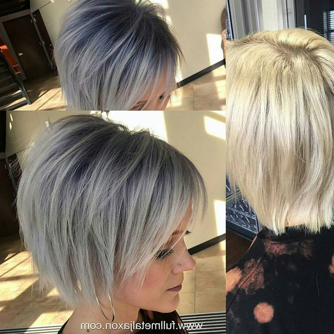 30 Trendy Short Hairstyles For Thick Hair – Women Short Hair Cuts Regarding Short Haircuts Bobs Thick Hair (View 8 of 25)