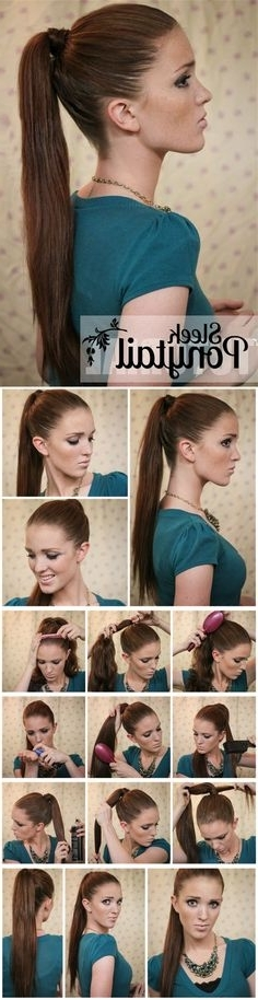 31 Best Ponytail Hairstyles Images On Pinterest | Braid Hair Styles Within Sleek Ladylike Ponytail Hairstyles (View 13 of 25)