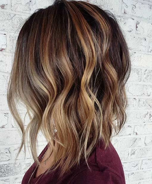31 Cool Balayage Ideas For Short Hair | Page 3 Of 3 | Stayglam Regarding Butter Blonde A Line Bob Hairstyles (View 19 of 25)