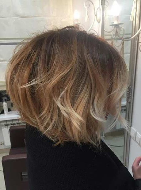 31 Short Bob Hairstyles To Inspire Your Next Look | Balayage Throughout Balayage Bob Haircuts With Layers (View 15 of 25)