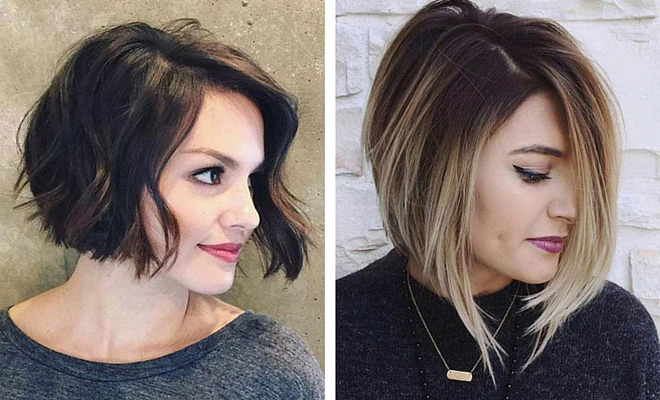 31 Short Bob Hairstyles To Inspire Your Next Look | Page 2 Of 3 Within Lip Length Tousled Brunette Bob Hairstyles (View 16 of 25)