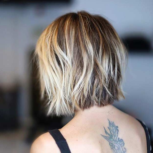 31 Short Bob Hairstyles To Inspire Your Next Look | Page 3 Of 3 Inside Blunt Bob Haircuts With Layers (View 15 of 25)
