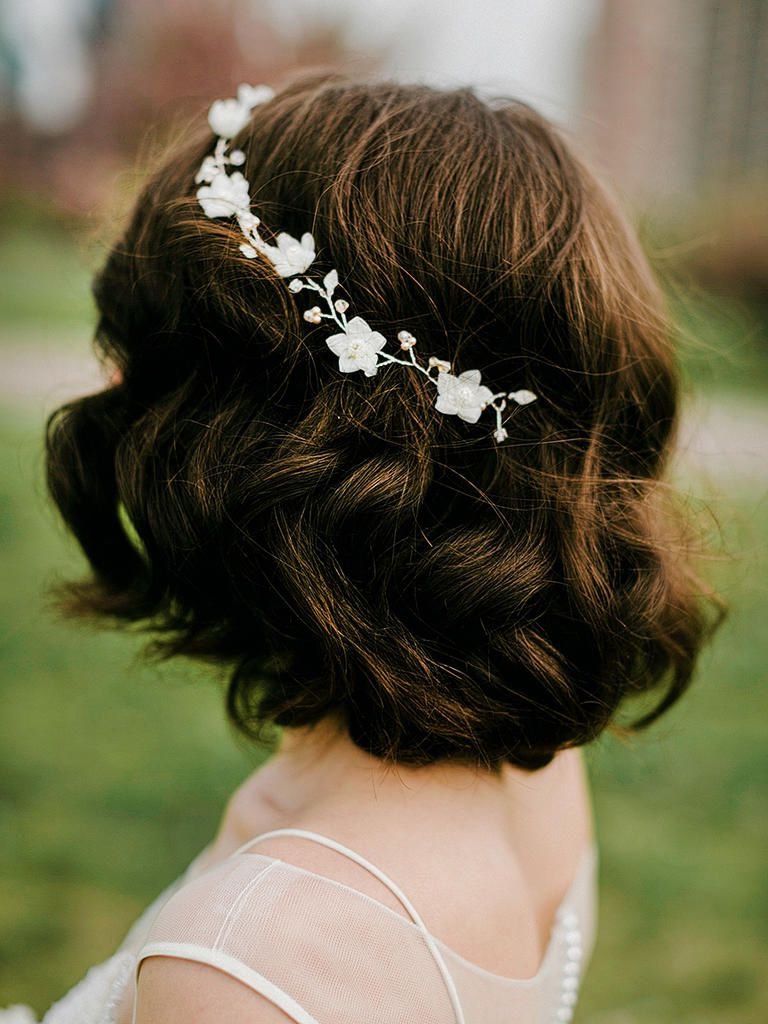 31 Stunning Wedding Hairstyles For Short Hair | Wedding Hairstyles With Bridal Hairstyles Short Hair (View 20 of 25)