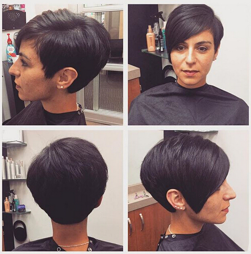 31 Superb Short Hairstyles For Women – Popular Haircuts In Cute Shaped Crop Hairstyles (View 16 of 25)