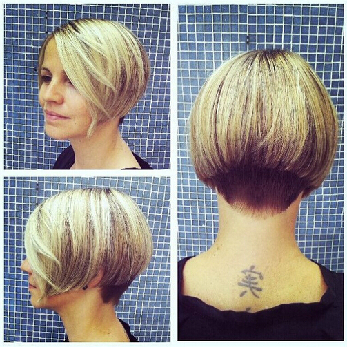 31 Superb Short Hairstyles For Women – Popular Haircuts In Cute Shaped Crop Hairstyles (View 4 of 25)