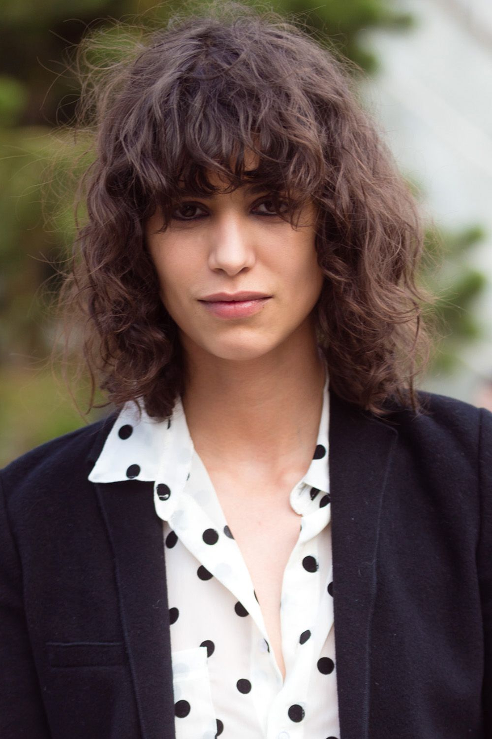 32 Curly Hairstyles And Haircuts We Love – Best Hairstyle Ideas For In Short Black Hairstyles With Tousled Curls (View 16 of 25)