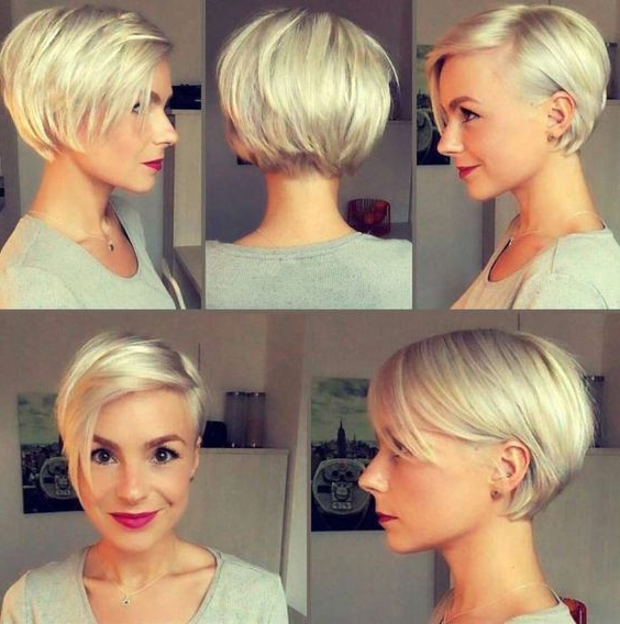 32+ Cute Short Pixie Haircuts For Women | Fabulous Hair! | Pinterest Intended For Icy Poker Straight Razored Pixie Haircuts (View 25 of 25)