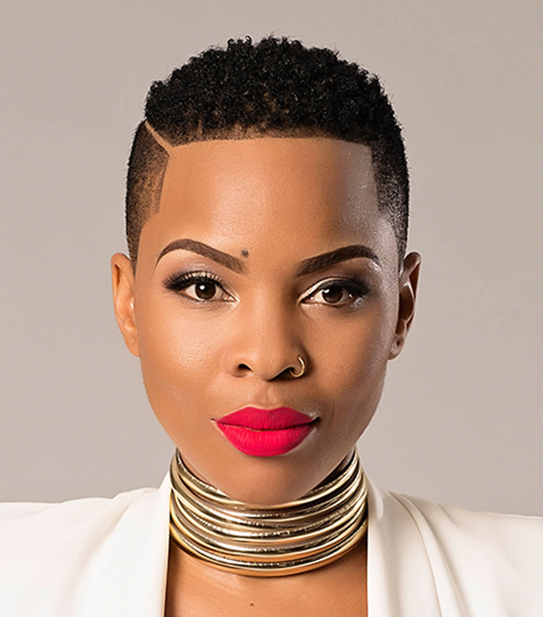 32 Exquisite African American Short Haircuts And Hairstyles For 2018 Regarding African American Short Haircuts For Round Faces (View 5 of 25)