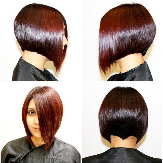 32 Latest Bob Haircuts For The Season – Pretty Designs With Regard To A Line Amber Bob Haircuts (View 7 of 25)