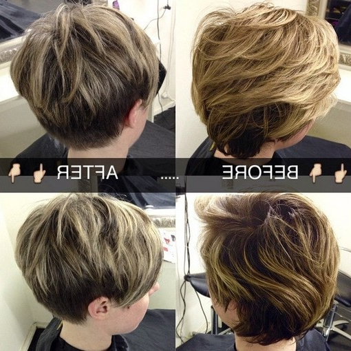 32 Stylish Pixie Haircuts For Short Hair – Popular Haircuts With Pixie Haircuts With Short Thick Hair (View 25 of 25)