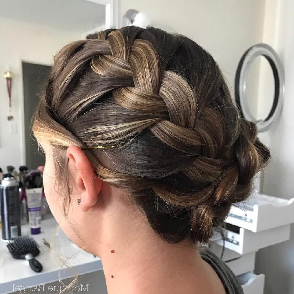 32 Super Hot Prom Updos For Long Hair Within Short Hairstyles For Prom Updos (View 10 of 25)