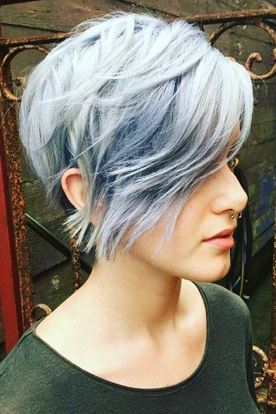 32 Top Short Pixie Haircuts Ideas For Women 2018 / 2019 | Hair And Intended For Bronde Balayage Pixie Haircuts With V Cut Nape (View 9 of 25)