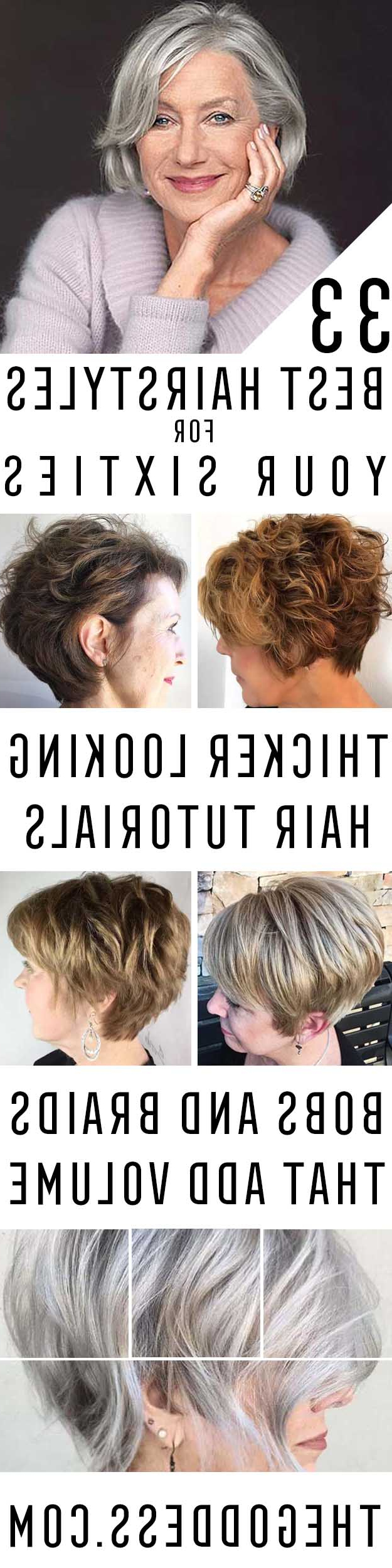 33 Best Hairstyles For Your 60S – The Goddess Regarding Short Haircuts For Women Who Wear Glasses (View 25 of 25)