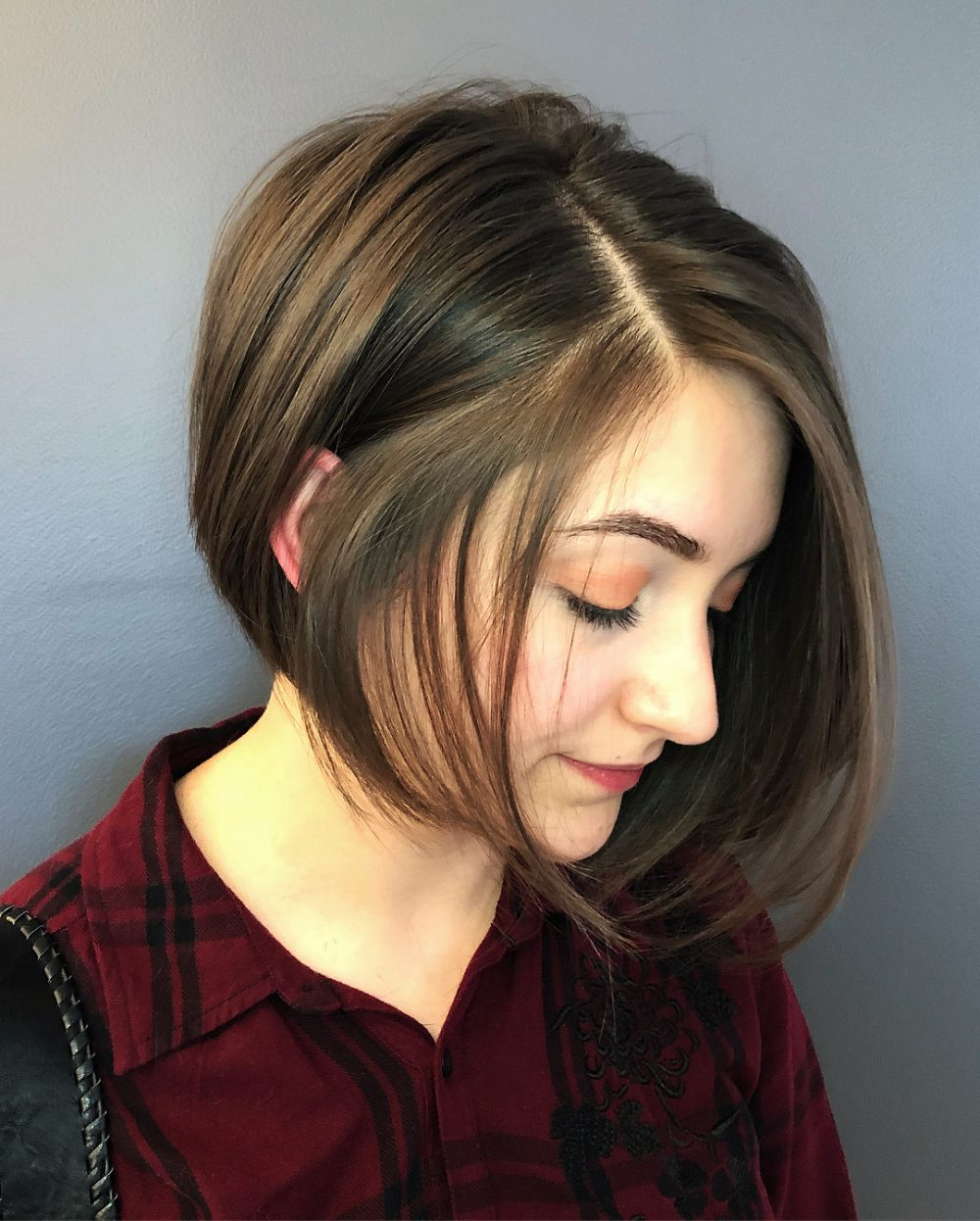 33 Flattering Short Hairstyles For Round Faces In 2018 In Short Hairstyles With Bangs For Round Face (View 2 of 25)