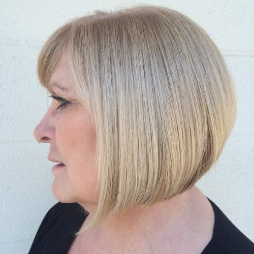 33 Hottest A Line Bob Haircuts You'll Want To Try In 2018 For Southern Belle Bob Haircuts With Gradual Layers (View 8 of 25)