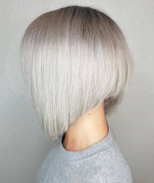 33 Hottest A Line Bob Haircuts You'll Want To Try In 2018 Intended For Southern Belle Bob Haircuts With Gradual Layers (View 11 of 25)
