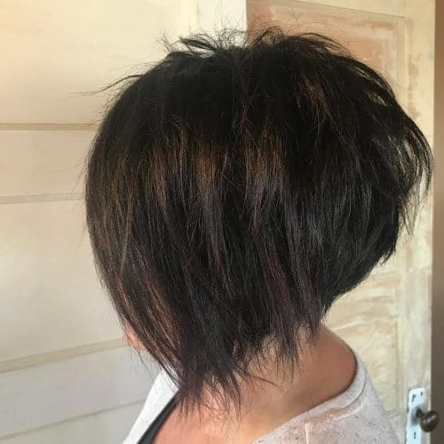 33 Hottest A Line Bob Haircuts You'll Want To Try In 2018 Within Southern Belle Bob Haircuts With Gradual Layers (View 19 of 25)