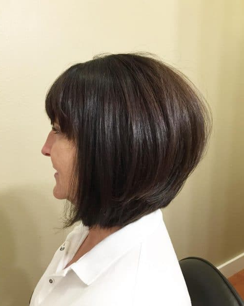 33 Hottest A Line Bob Haircuts You'll Want To Try In 2018 Within Southern Belle Bob Haircuts With Gradual Layers (View 23 of 25)