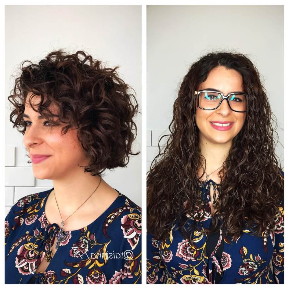 33 Hottest Short Curly Hairstyles Trending In 2018 Within Short Haircuts For Wavy Frizzy Hair (View 7 of 25)