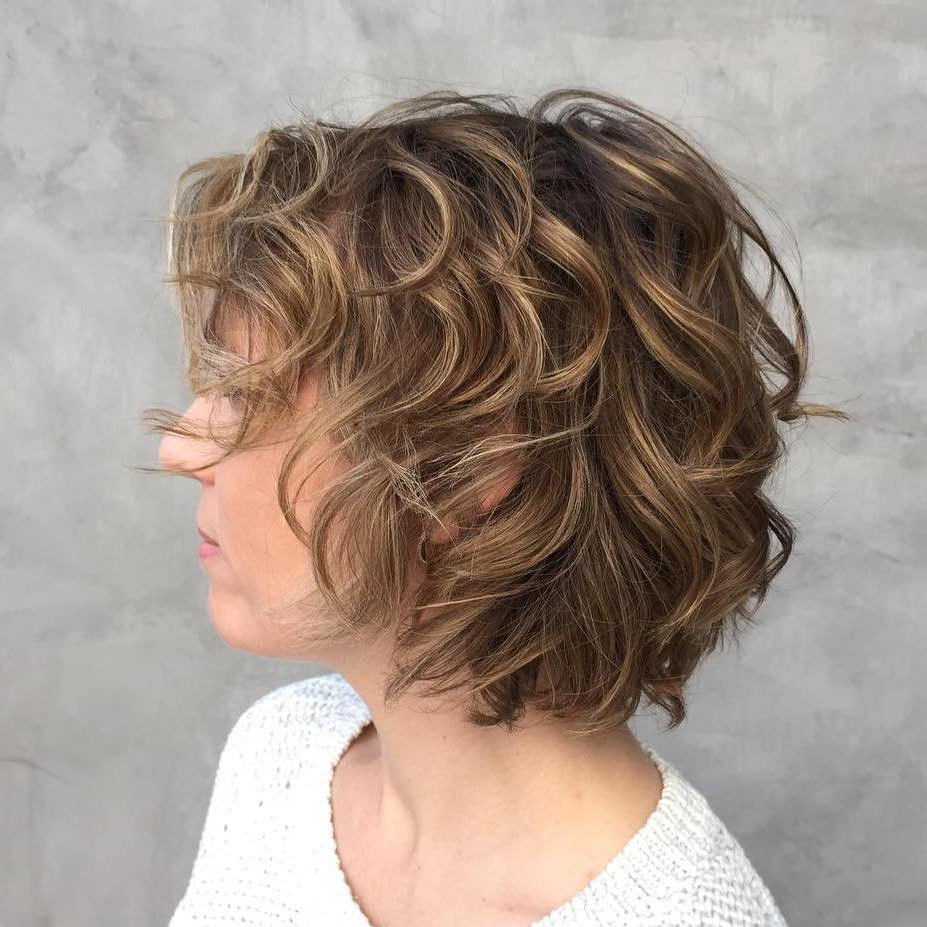 33+ Most Stylish Short Curly Hairstyles & Haircuts For Women Inside Layered Haircuts For Short Curly Hair (View 4 of 25)