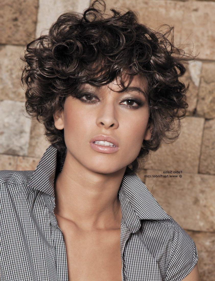 33+ Most Stylish Short Curly Hairstyles & Haircuts For Women Intended For Trendy Short Curly Hairstyles (View 2 of 25)