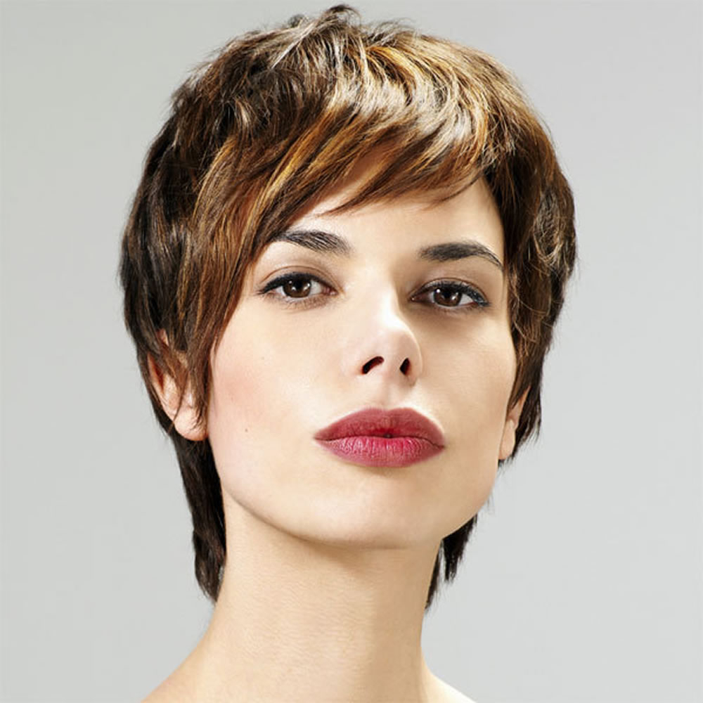 34 Amazing Short Hair Haircuts For Girls 2018 2019 – Hairstyles With Short Female Hair Cuts (View 20 of 25)