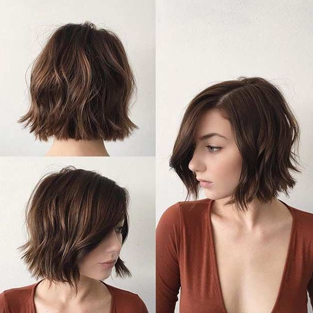 34 Best Hair Ideas Images On Pinterest | Hair Cut, Hairdos And Short Intended For Blunt Bob Haircuts With Layers (View 22 of 25)