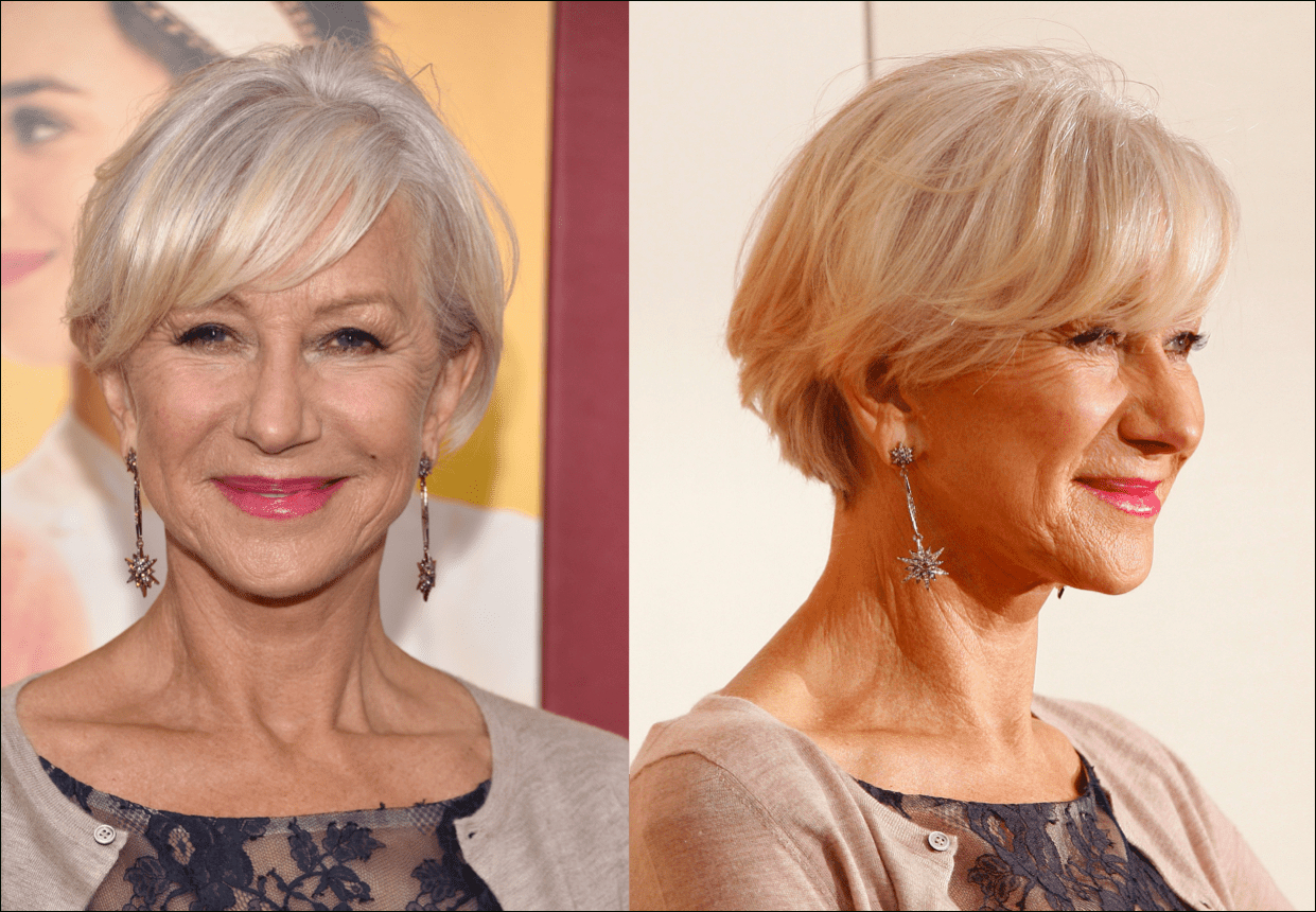 34 Gorgeous Short Haircuts For Women Over 50 Within Ladies Short Hairstyles With Fringe (View 4 of 25)