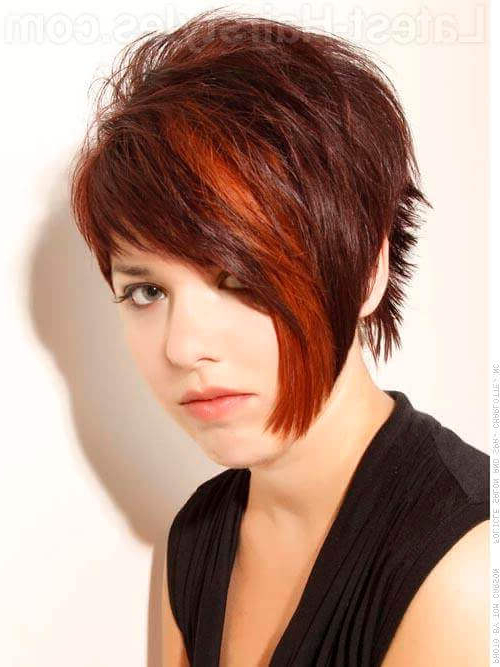 34 Greatest Short Haircuts And Hairstyles For Thick Hair For 2018 Inside Asymmetrical Haircuts For Thick Hair (View 8 of 25)