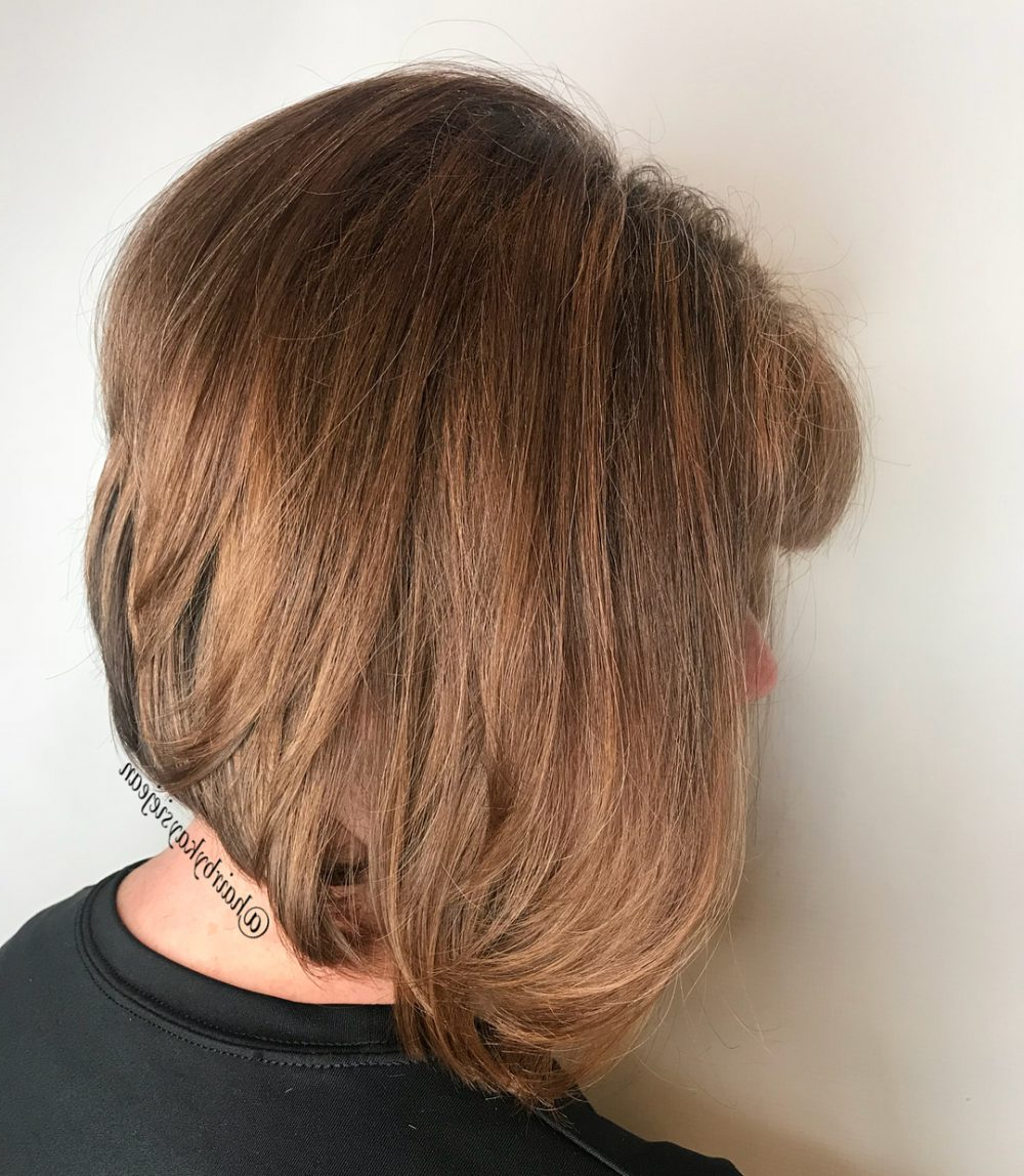 34 Greatest Short Haircuts And Hairstyles For Thick Hair For 2018 Within Short Haircuts Bobs Thick Hair (View 12 of 25)