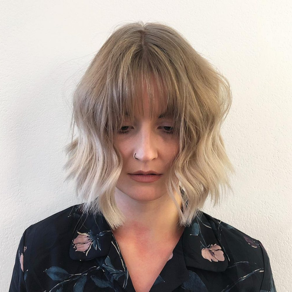 34 Perfect Short Haircuts And Hairstyles For Thin Hair (2018) Inside Short Haircuts For Thin Curly Hair (View 8 of 25)