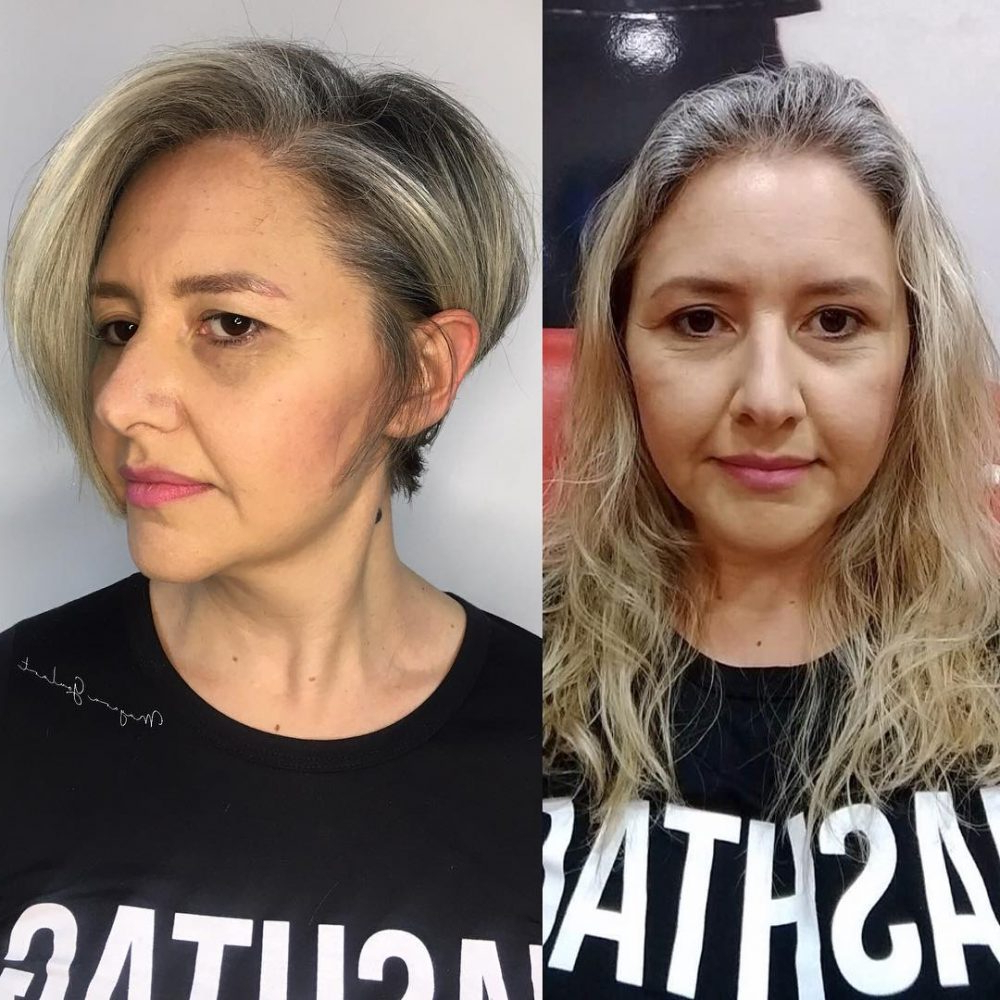 34 Perfect Short Haircuts And Hairstyles For Thin Hair (2018) With Regard To Short Haircuts For Thin Curly Hair (View 11 of 25)
