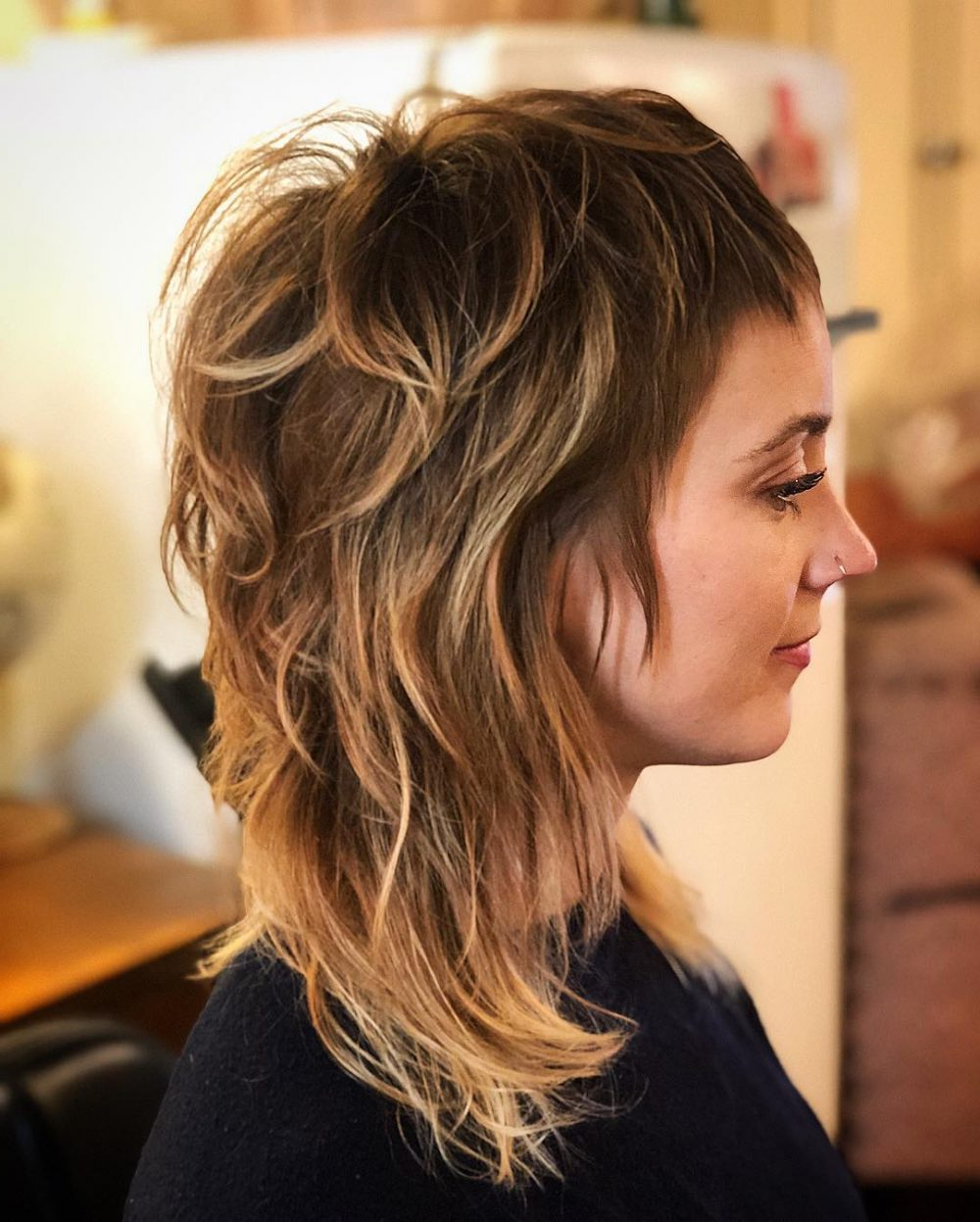 34 Short Bangs That Are Totally Hot In 2018 In Very Short Haircuts With Long Bangs (View 2 of 25)