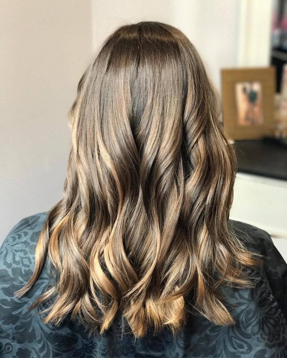 34 Sweetest Caramel Highlights On Light To Dark Brown Hair (2018) Intended For Curly Dark Brown Bob Hairstyles With Partial Balayage (View 17 of 25)