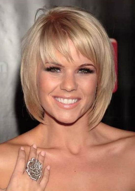 35 Awesome Bob Haircuts With Bangs – Makes You Truly Stylish | Hair Inside Stunning Poker Straight Bob Hairstyles (View 5 of 25)