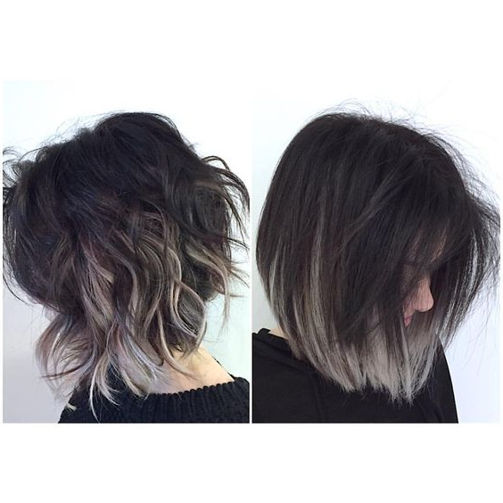 35 Balayage Styles And Color Ideas For Short Hair With High Contrast Blonde Balayage Bob Hairstyles (View 19 of 25)