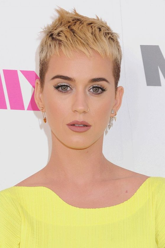 35 Fabulous Short Haircuts For Thick Hair Throughout Sweeping Pixie Hairstyles With Undercut (View 16 of 25)