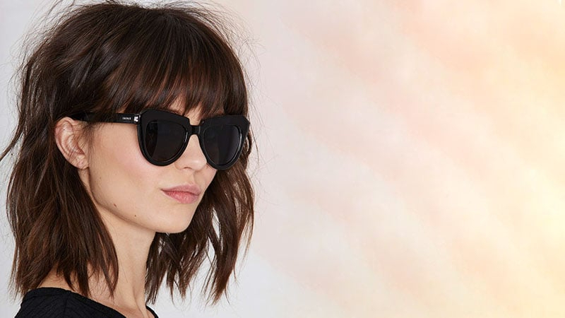 35 Sexy Long Bob Hairstyles You Should Try – The Trend Spotter Pertaining To Textured Bob Haircuts With Bangs (View 22 of 25)