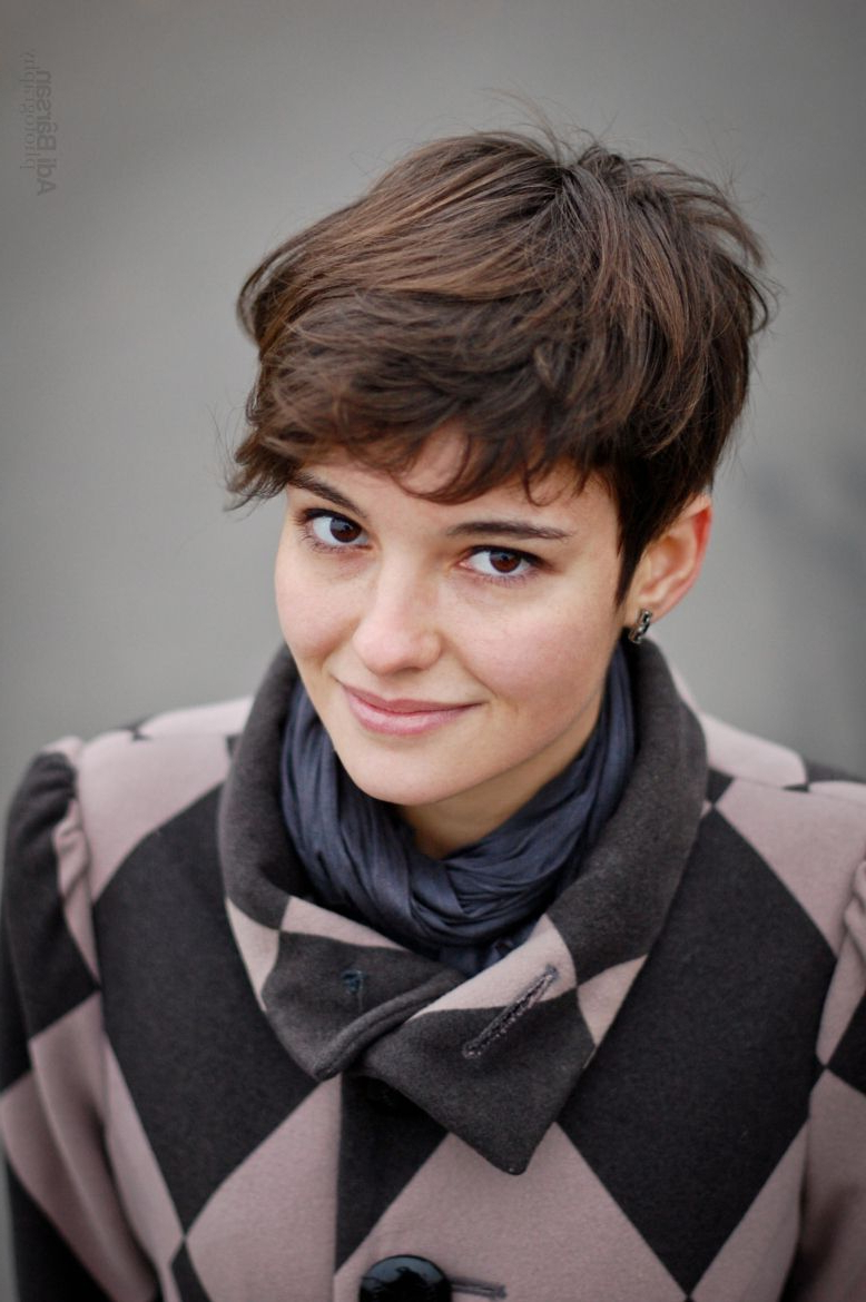 35+ Short Pixie Haircuts That Give An Edgy But Feminine Vibe | Hair Intended For Feminine Short Haircuts (View 19 of 25)