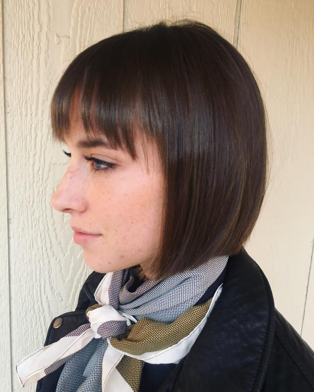 35 Short Straight Hairstyles Trending Right Now (Updated For 2018) Regarding Rebonded Short Hairstyles (View 15 of 25)