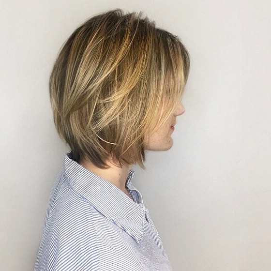 35 Short Straight Hairstyles Trending Right Now (Updated For 2018) Throughout Neat Short Rounded Bob Hairstyles For Straight Hair (View 19 of 25)