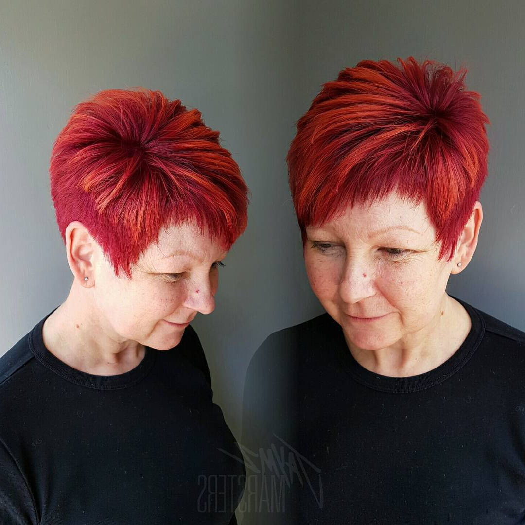 35 Stunning New Red Hairstyles & Haircut Ideas For 2019 – Redhead Ideas Throughout Bright Red Short Hairstyles (View 22 of 25)