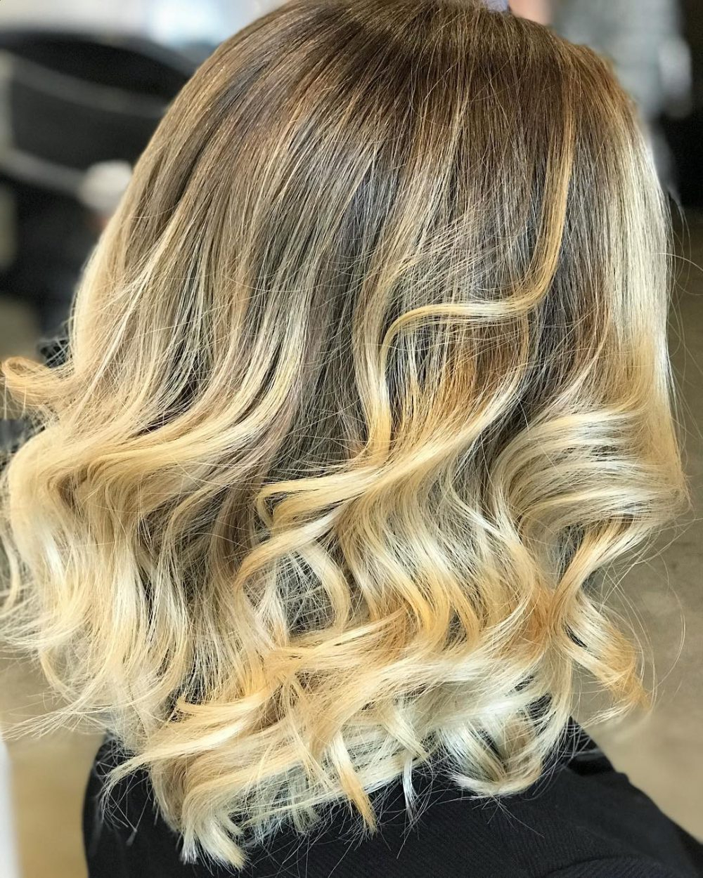 36 Curled Hairstyles Tending In 2018 – So Grab Your Hair Curling Wand! Intended For Short Bob Hairstyles With Whipped Curls And Babylights (View 15 of 25)